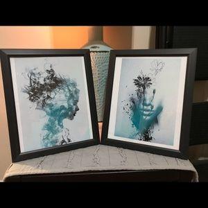 2 piece 8x10 wall art